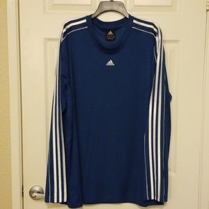 adidas  Men's Curated Crew Long Sleeve Shirt
